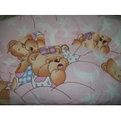 """Защита """"Мишки спят"""" (розовый)"""