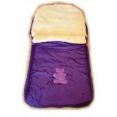 """Конверт зимний """"Baby"""" в коляску (санки) 4 в 1.  Фиолетовый"""