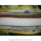 Ортопедический матрас кокос-поролон. Ткань чехла п/э