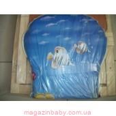 """Деревянный стульчик-трансформер для кормления """"Карапуз"""". Рыбки"""