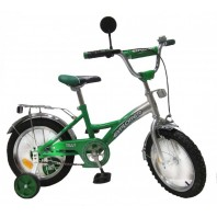 Велосипед EXPLORER 14 T-21412 green + silver