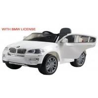 Электромобиль T-791 BMW X6 WHITE джип на р.у.