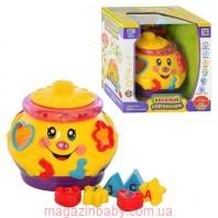 Детская интерактивная игрушка-сортер 0915 Веселый горшочек