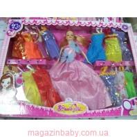 "Кукла типа ""Барби"" с одеждой, аксессуарами"