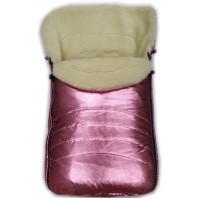"""Акция! Конверт зимний в коляску и санки Фо кидс розовый бронза (ТМ """"Baby"""")."""