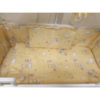 """Постельный комплект в кроватку 3 ед. """"Мишки маленькие бежевый"""".  Standart"""