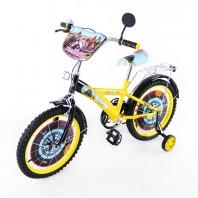 Велосипед TILLY Мотогонщик 18 T-21825 yellow