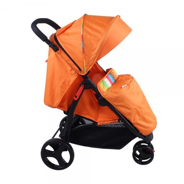 Акция! Прогулочная коляска Babyhit Trinity Orange strips
