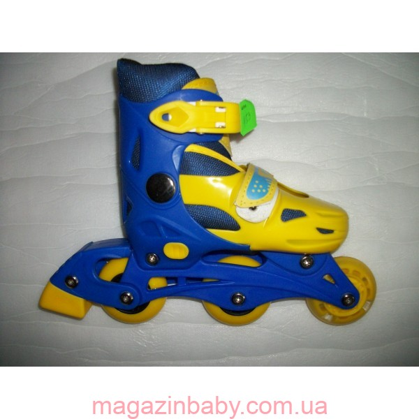 Раздвижные роликовые коньки 32-35 р. Размер стельки: 18-21 см