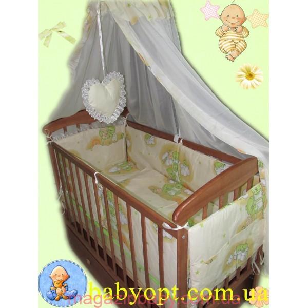 Набор постельного в детскую кроватку оптом